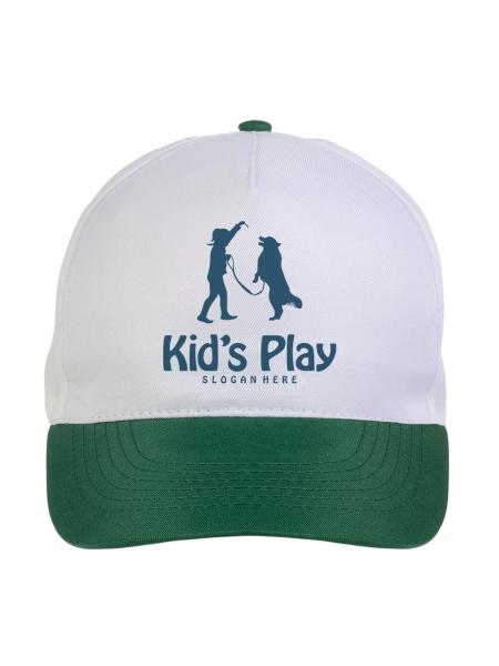 Cappelli da bambino con visiera colorata