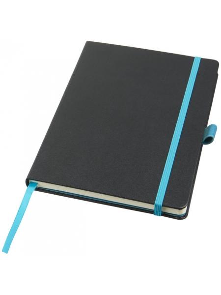 Block notes con elastico colorato JOURNALBOOKS cm.14,5x21,4 - 80 fogli e tasca interna