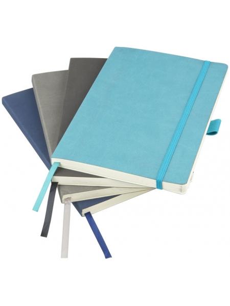 Block notes MARKSMAN cm.14x21 copertina flessibile 80 pagine a righe e tasca interna