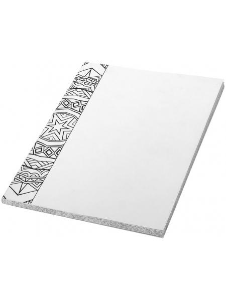 Block notes cm.14,8x21x0,5 con fogli bianchi e a righe