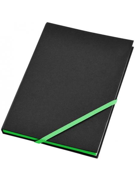 Taccuini A5 cm.14,3x21,3x1,3 con elastico diagonale