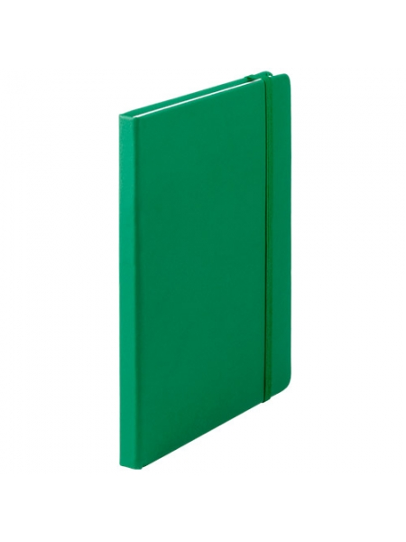 Block notes colorati cm 14,7x21x1,5 con fogli a righe ed elastico