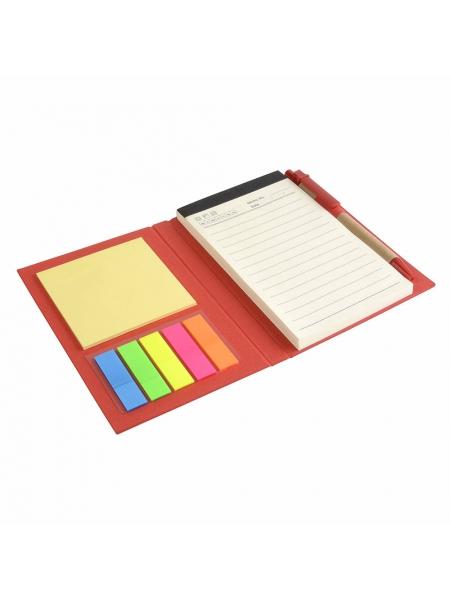 Taccuini in cartoncino cm 11,3x15,4x1,4 con elastico colorato - 70 pagine fogli a righe
