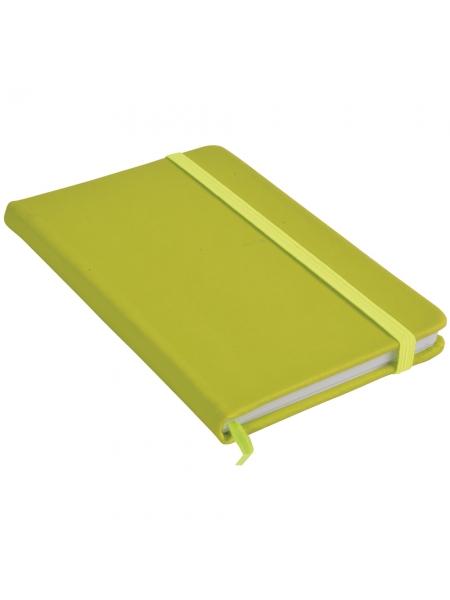 Quaderno colorato cm 15x21 con segnalibro - 80 pagine a quadretti