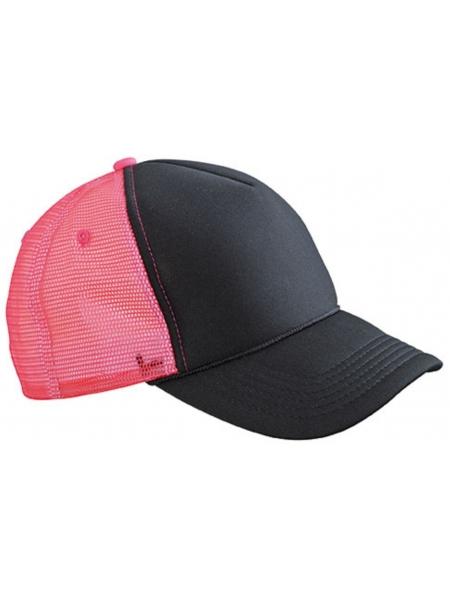 C_a_Cappellini-5-pannelli-e-cordino-sulla-visiera-Myrtle-Beach-Black-neon-pink_2.jpg
