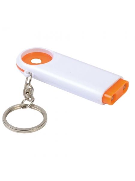 Portachiavi con gettone per carrello spesa Light