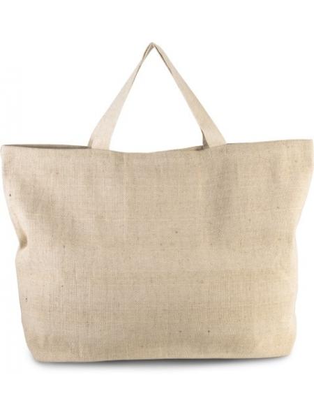 Shopper Borse Ki-Mood in tela 500 gr manici lunghi - 72x48x15 cm