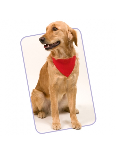 Bandana per animale con cinturino regolabile